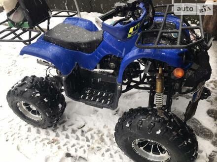 Синий АТВ 125, объемом двигателя 0.12 л и пробегом 2 тыс. км за 600 $, фото 1 на Automoto.ua