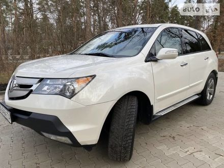 Белый Акура МДХ, объемом двигателя 3.7 л и пробегом 206 тыс. км за 16300 $, фото 1 на Automoto.ua
