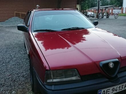 Красный Альфа Ромео 164, объемом двигателя 2 л и пробегом 250 тыс. км за 2300 $, фото 1 на Automoto.ua