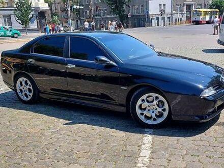 Черный Альфа Ромео 166, объемом двигателя 3 л и пробегом 240 тыс. км за 4999 $, фото 1 на Automoto.ua