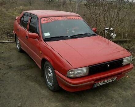 Красный Альфа Ромео 33, объемом двигателя 1.7 л и пробегом 290 тыс. км за 1400 $, фото 1 на Automoto.ua