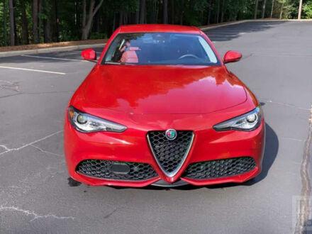 Червоний Альфа Ромео Джулія, об'ємом двигуна 2 л та пробігом 53 тис. км за 28000 $, фото 1 на Automoto.ua