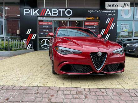 Червоний Альфа Ромео Джулія, об'ємом двигуна 2.9 л та пробігом 57 тис. км за 51900 $, фото 1 на Automoto.ua