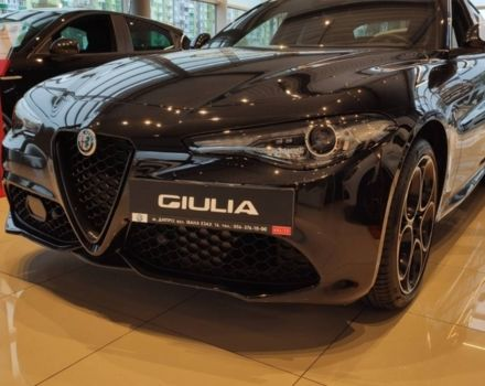 купити нове авто Альфа Ромео Джулія 2021 року від офіційного дилера ООО «Сателлит Мотор» Альфа Ромео фото