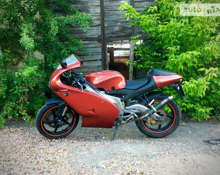 Красный Априлия РС, объемом двигателя 0.12 л и пробегом 19 тыс. км за 1600 $, фото 1 на Automoto.ua