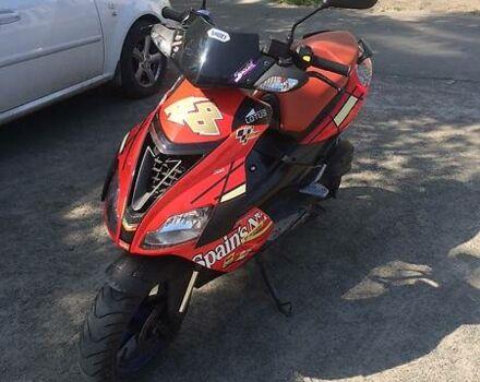 Красный Априлия СР, объемом двигателя 0.05 л и пробегом 30 тыс. км за 850 $, фото 1 на Automoto.ua
