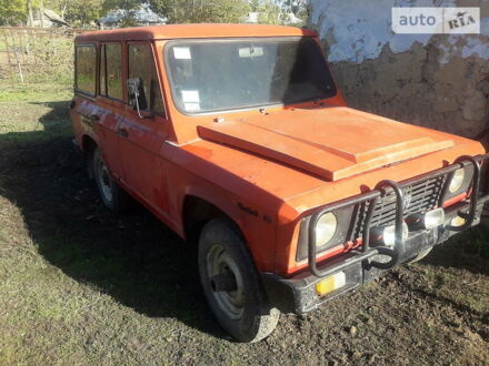 Червоний Аро 244, об'ємом двигуна 2.4 л та пробігом 100 тис. км за 2500 $, фото 1 на Automoto.ua