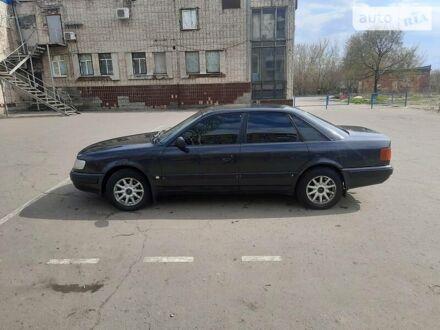 Черный Ауди 100, объемом двигателя 2.6 л и пробегом 441 тыс. км за 3400 $, фото 1 на Automoto.ua