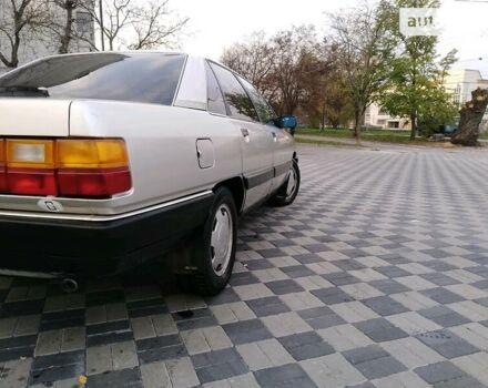 Серый Ауди 200, объемом двигателя 2.2 л и пробегом 350 тыс. км за 3400 $, фото 1 на Automoto.ua