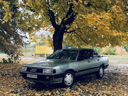 Зеленый Ауди 200, объемом двигателя 2.23 л и пробегом 360 тыс. км за 1200 $, фото 1 на Automoto.ua