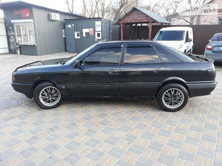 Черный Ауди 80, объемом двигателя 1.8 л и пробегом 260 тыс. км за 3200 $, фото 1 на Automoto.ua
