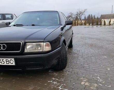 Черный Ауди 80, объемом двигателя 2 л и пробегом 300 тыс. км за 3350 $, фото 1 на Automoto.ua