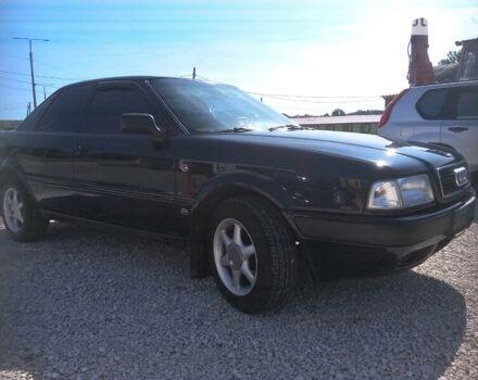 Черный Ауди 80, объемом двигателя 2 л и пробегом 367 тыс. км за 4250 $, фото 1 на Automoto.ua