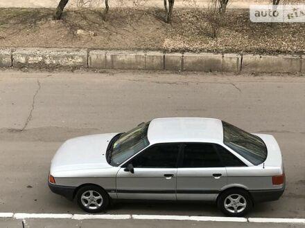 Серый Ауди 80, объемом двигателя 1.8 л и пробегом 358 тыс. км за 3200 $, фото 1 на Automoto.ua