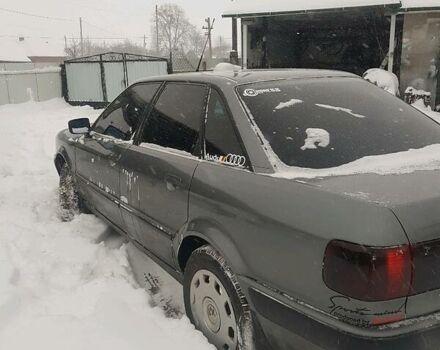 Серый Ауди 80, объемом двигателя 2 л и пробегом 350 тыс. км за 3250 $, фото 1 на Automoto.ua