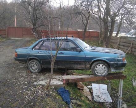 Синій Ауді 80, об'ємом двигуна 1.8 л та пробігом 400 тис. км за 600 $, фото 1 на Automoto.ua