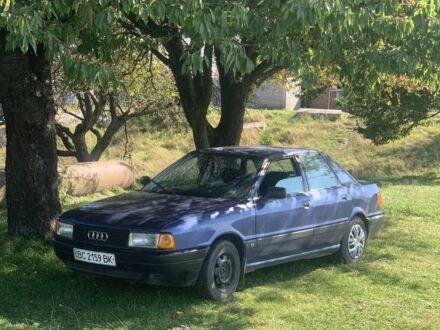 Синий Ауди 80, объемом двигателя 1.8 л и пробегом 350 тыс. км за 2150 $, фото 1 на Automoto.ua