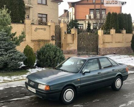 Зеленый Ауди 80, объемом двигателя 1.8 л и пробегом 218 тыс. км за 2899 $, фото 1 на Automoto.ua