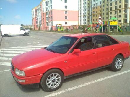 Червоний Ауді 90, об'ємом двигуна 2 л та пробігом 1 тис. км за 2500 $, фото 1 на Automoto.ua