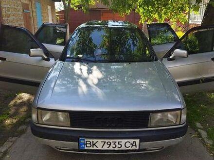 Сірий Ауді 90, об'ємом двигуна 1.8 л та пробігом 318 тис. км за 2550 $, фото 1 на Automoto.ua