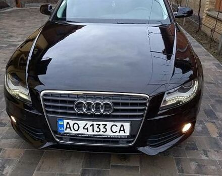 Черный Ауди А4, объемом двигателя 2 л и пробегом 260 тыс. км за 11500 $, фото 1 на Automoto.ua