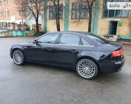 Черный Ауди А4, объемом двигателя 2 л и пробегом 150 тыс. км за 12700 $, фото 1 на Automoto.ua
