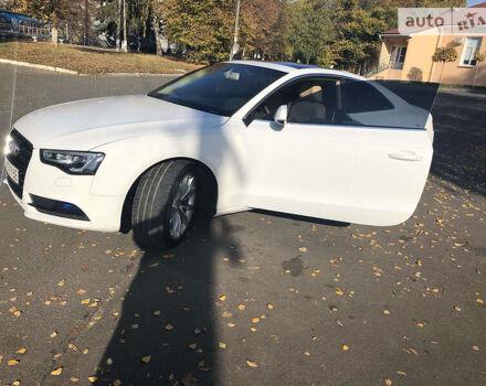 Білий Ауді A5, об'ємом двигуна 2 л та пробігом 55 тис. км за 18500 $, фото 1 на Automoto.ua