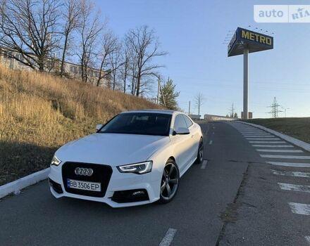 Білий Ауді A5, об'ємом двигуна 2 л та пробігом 91 тис. км за 16900 $, фото 1 на Automoto.ua