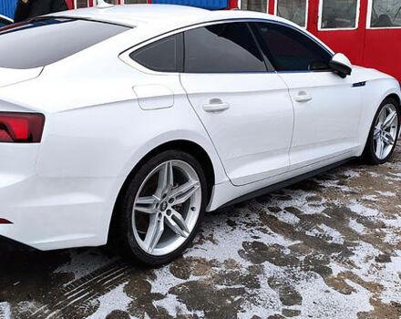 Білий Ауді A5, об'ємом двигуна 2 л та пробігом 20 тис. км за 38500 $, фото 1 на Automoto.ua
