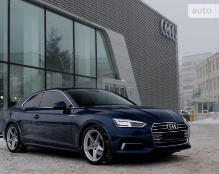 Синій Ауді A5, об'ємом двигуна 2 л та пробігом 31 тис. км за 37500 $, фото 1 на Automoto.ua