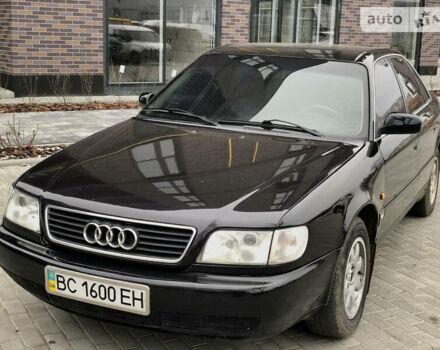 Черный Ауди А6, объемом двигателя 2.6 л и пробегом 280 тыс. км за 3400 $, фото 1 на Automoto.ua