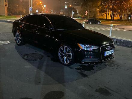 Черный Ауди А6, объемом двигателя 2 л и пробегом 160 тыс. км за 16000 $, фото 1 на Automoto.ua