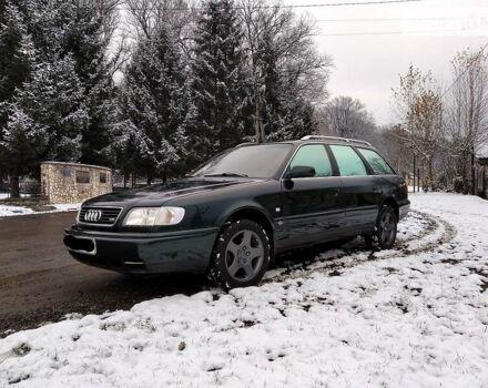 Зеленый Ауди А6, объемом двигателя 2.6 л и пробегом 230 тыс. км за 4800 $, фото 1 на Automoto.ua