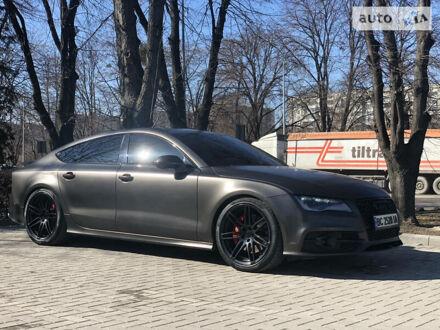 Чорний Ауді А7, об'ємом двигуна 3 л та пробігом 135 тис. км за 21500 $, фото 1 на Automoto.ua