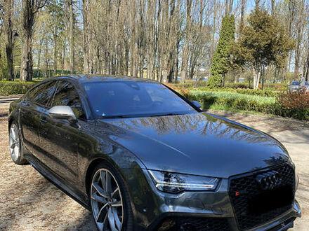 Сірий Ауді РС7, об'ємом двигуна 4 л та пробігом 37 тис. км за 89999 $, фото 1 на Automoto.ua