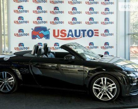 Черный Ауди ТТ, объемом двигателя 2 л и пробегом 93 тыс. км за 29500 $, фото 1 на Automoto.ua