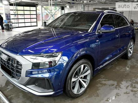 Синій Ауді Q8, об'ємом двигуна 3 л та пробігом 39 тис. км за 91500 $, фото 1 на Automoto.ua
