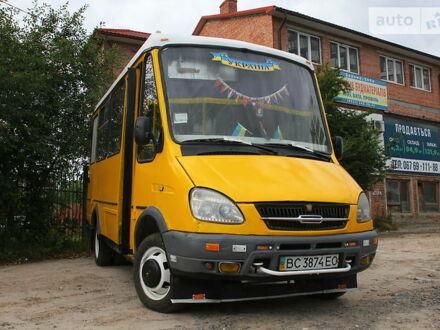 Желтый БАЗ 2215, объемом двигателя 2.3 л и пробегом 200 тыс. км за 2000 $, фото 1 на Automoto.ua