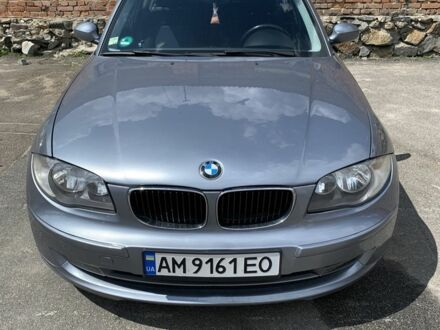 Серый БМВ 1 Серия, объемом двигателя 1.6 л и пробегом 198 тыс. км за 6500 $, фото 1 на Automoto.ua