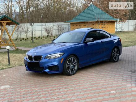 Синий БМВ 240, объемом двигателя 3 л и пробегом 58 тыс. км за 37000 $, фото 1 на Automoto.ua