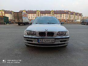 Серый БМВ 3 Серия, объемом двигателя 1.9 л и пробегом 330 тыс. км за 4500 $, фото 1 на Automoto.ua