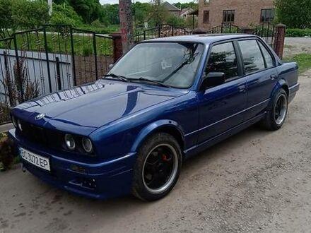 Синий БМВ 316, объемом двигателя 1.6 л и пробегом 320 тыс. км за 4000 $, фото 1 на Automoto.ua