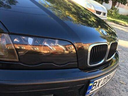 Черный БМВ 320, объемом двигателя 1.9 л и пробегом 260 тыс. км за 5000 $, фото 1 на Automoto.ua