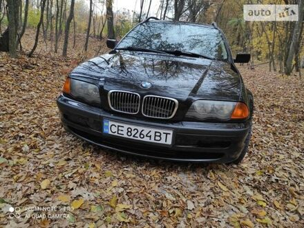 Черный БМВ 320, объемом двигателя 2.2 л и пробегом 415 тыс. км за 4700 $, фото 1 на Automoto.ua