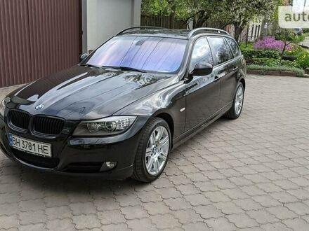 Черный БМВ 320, объемом двигателя 2 л и пробегом 183 тыс. км за 12300 $, фото 1 на Automoto.ua