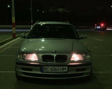 Срібний БМВ 320, об'ємом двигуна 2 л та пробігом 252 тис. км за 4800 $, фото 1 на Automoto.ua