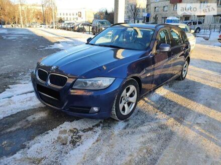 Синий БМВ 320, объемом двигателя 2 л и пробегом 476 тыс. км за 10000 $, фото 1 на Automoto.ua