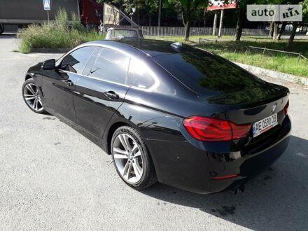 Черный БМВ 430, объемом двигателя 2 л и пробегом 76 тыс. км за 27300 $, фото 1 на Automoto.ua
