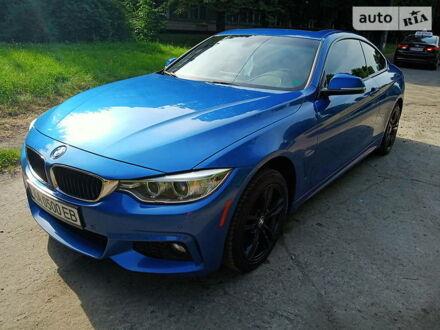 Синій БМВ 435, об'ємом двигуна 3 л та пробігом 105 тис. км за 26700 $, фото 1 на Automoto.ua