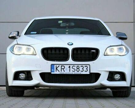 Белый БМВ 5 Серия, объемом двигателя 2 л и пробегом 180 тыс. км за 10000 $, фото 1 на Automoto.ua